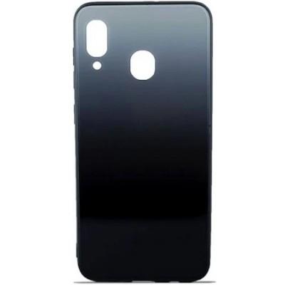 Накладка Glass Case Gradient для Samsung M205 (M20 2019) Blue Abyss