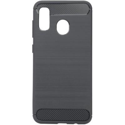 Накладка Brushed для Samsung A205 (A20 2019) Black