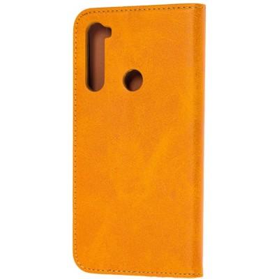 Чохол-книжка TPU Magnet для Xiaomi Redmi Note 8 Brown
