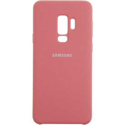 Чохол Silicon Cover  Samsung G960 (S9) Silky&Soft Touch Pink