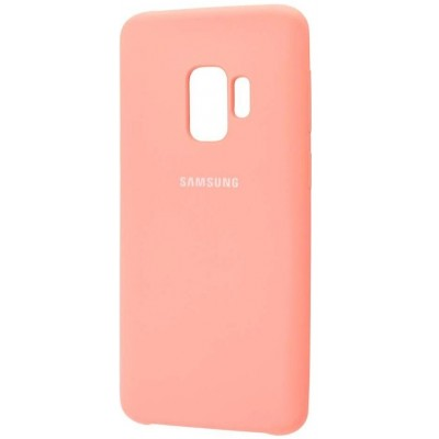 Чохол Silicon Cover  Samsung G960 (S9) Silky&Soft Touch Orange