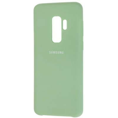 Чохол Silicon Cover  Samsung G960 (S9) Silky&Soft Touch Light Green