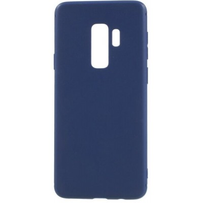Чохол Silicon Cover  Samsung G960 (S9) Silky&Soft Touch Blue