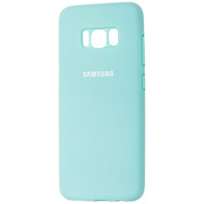 Чохол Silicon Cover Samsung G950 (S8) Silky&Soft Touch Light Blue