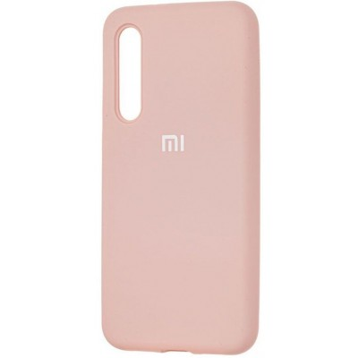 Накладка Silicone Cover для Xiaomi Mi 9 SE Silky&Soft Touch Pink