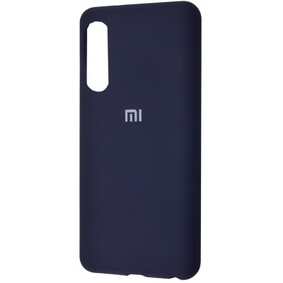 Накладка Silicone Cover для Xiaomi Mi 9 SE Silky&Soft Touch Dark Blue