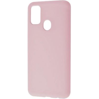 Накладка Soft Touch для Samsung M307 (M30s 2019) Pink Sand