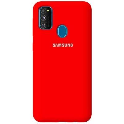 Накладка Matte Soft Case для Samsung M307 (M30s 2019) Red