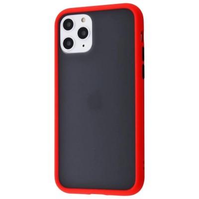 Накладка Gingle Matte Case iPhone 11 Red-Black