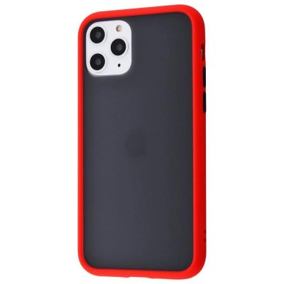 Накладка Gingle Matte Case iPhone 11 Pro Red-Black
