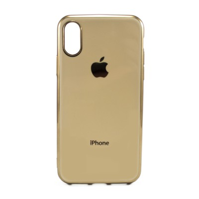 Накладка Matte 2-Line для iPhone X/XS Gold