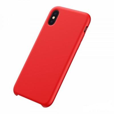 Накладка Matte 2-Line для iPhone X/XS Red