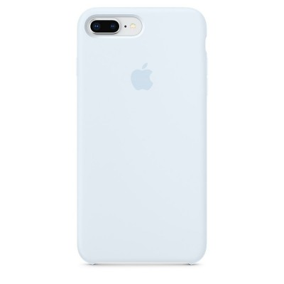 Накладка Silicone Case для iPhone 7/8 Plus Light Blue