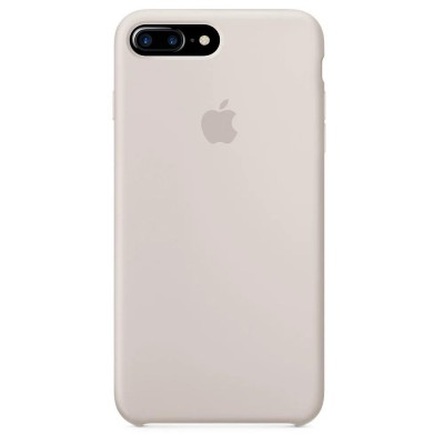 Накладка Silicone Case для iPhone 7/8 Plus Light Grey