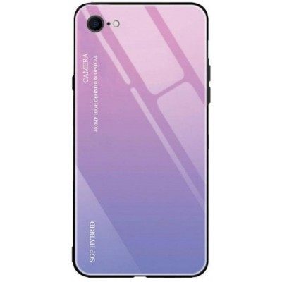 Чохол 'силікон'  iPhone 7 White Gradient Pink