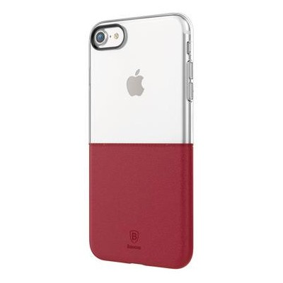 Чохол Baseus Half to Half (1/2) iphone 7 Wine Red