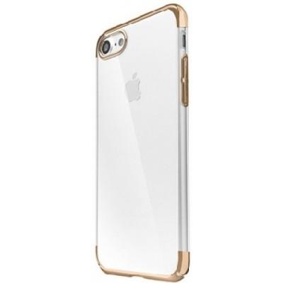 "Чохол Baseus Fusion iPhone 7 Plus""силікон з ободком"" Gold"