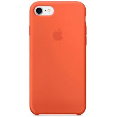 "Чохол ""силікон"" Soft Touch iPhone 7 Tangerine"