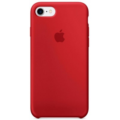 """Чохол """"силікон"""" Soft Touch iPhone 7 Red"""