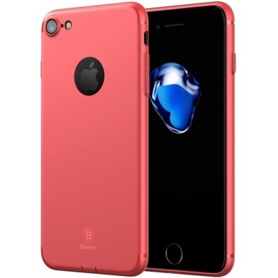 "Чохол  Baseus Super Slim Case iPhone 7 ""силікон"" Red"