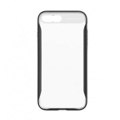 "Чохол  Baseus Fusion iPhone 7 Plus""силікон з ободком"" Black"