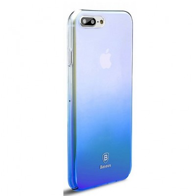 Чохол  Baseus Glaze Case iPhone 7 Plus Blue