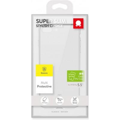 Чохол  Baseus Shining Case з ободком(TPU)iPhone 7 Gold