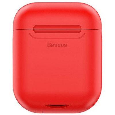 Чохол Silicon Case Baseus AirPods Red