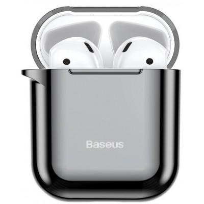 Чохол Silicon Case Baseus AirPods Silver