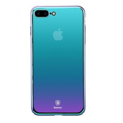 Чохол  Baseus Glaze Case iPhone 7 Plus Dark-Blue