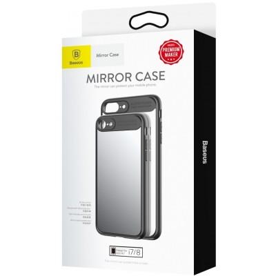 Чохол  Baseus Mirror Case iPhone 7 Violet-blue