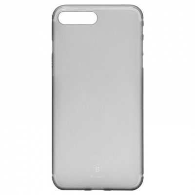"Чохол  Baseus Slim iPhone 7 Plus ""силікон"" Transparent Black"