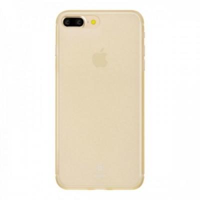 """Чохол  Baseus Super Slim Case iPhone 7 Plus """"силікон"""" Gold"""