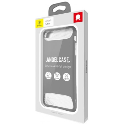 "Чохол  Baseus Angel case iPhone 7 ""силікон"" Gray"