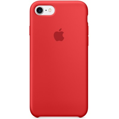 Накладка Silicone Case для iPhone 7/8 Red