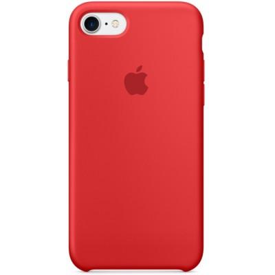Накладка Silicone Case для iPhone 7/8 Light Red