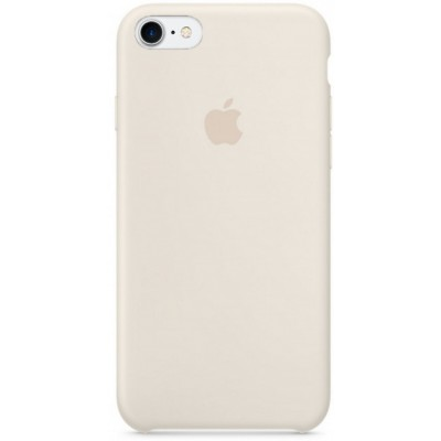 Накладка Silicone Case для iPhone 7/8 Light Grey