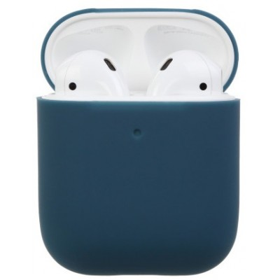 Чохол Silicone Case AirPods 2 Blue gray