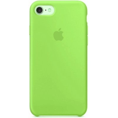 Накладка Silicone Case для iPhone 7/8 Light Green