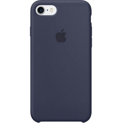 Накладка Silicone Case для iPhone 7/8 Blue