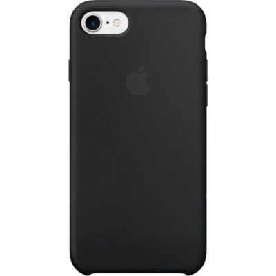 Накладка Silicone Case для iPhone 7/8 Black