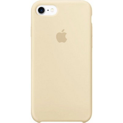 Накладка Silicone Case для iPhone 7/8 Beige