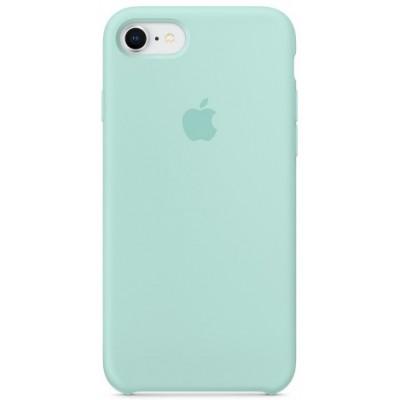 Накладка Silicone Case HC для iPhone 7/8 Marine Green