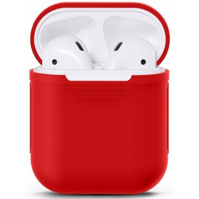 Чохол Silicone Case AirPods Red