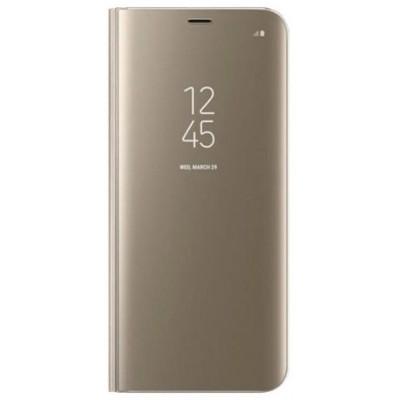 Чохол-книжка Clear View Standing Cover для Samsung G973 (S10) Gold HC