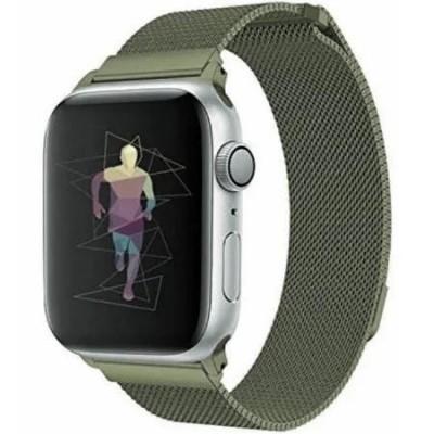 Ремінець Apple Watch Міланська петля 38/40mm Pine Green