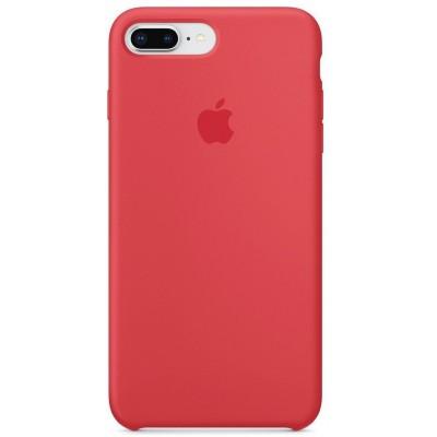 Накладка Silicone Case для iPhone 7/8 Plus Red