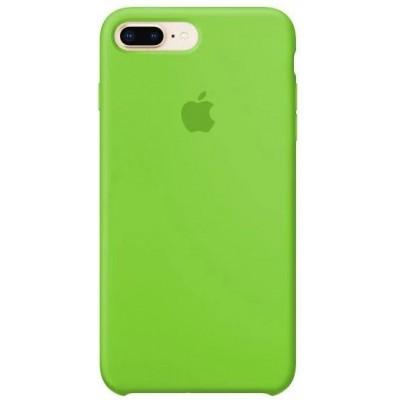 Накладка Silicone Case для iPhone 7/8 Plus Light Green