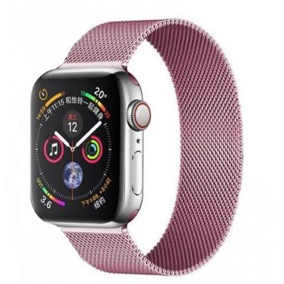 Ремінець Apple Watch Міланська петля 38/40mm Light Pink