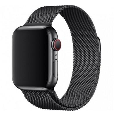 Ремінець Apple Watch Міланська петля 38/40mm. Black